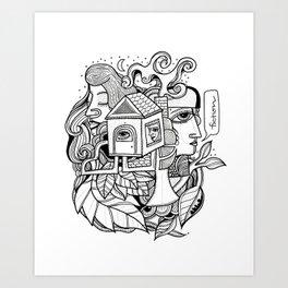 Fiction Art Print