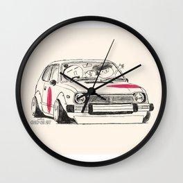 Crazy Car Art 0163 Wall Clock