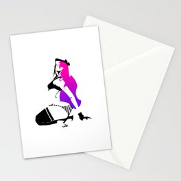 NeonHair Stationery Cards