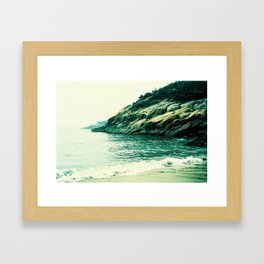 Sand Beach Framed Art Print