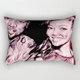 Gabrielle & Dwayne Rectangular Pillow