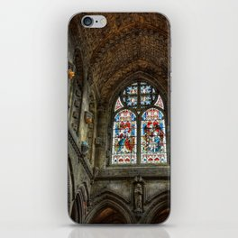 Chapel Stained Glass Window iPhone Skin