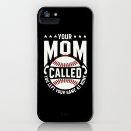 Left game at home iPhone Case