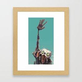 Borderlands - STEVE! Framed Art Print