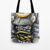 samurai Tote Bags featuring Samurai by rchaem