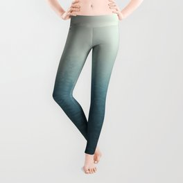 Into The Misty Nature - Turquoise II Leggings