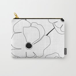 Bloomed Flower Carry-All Pouch