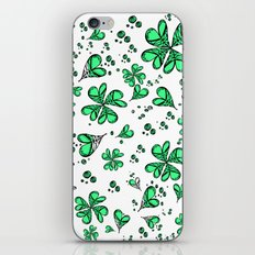 Lucky on my side iPhone & iPod Skin