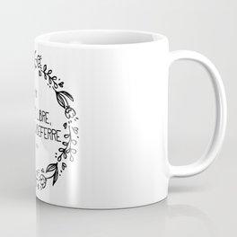 Être Libre, Dit Combeferre Coffee Mug