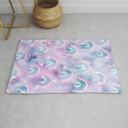 Cosmic Rainbow Dream Pattern #1 (Kids Collection) #decor #art #society6 Rug
