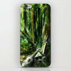 The Great Gaming Forest iPhone & iPod Skin
