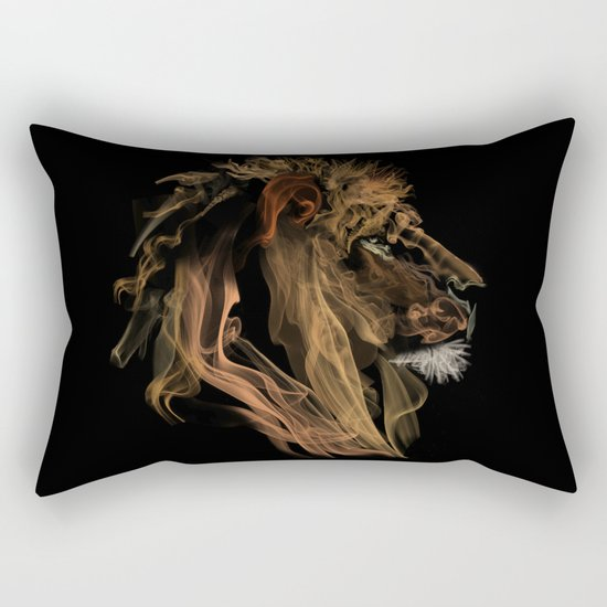 Where there's smoke there's fire! Rectangular Pillow