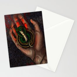 The Snake Charm Stationery Cards