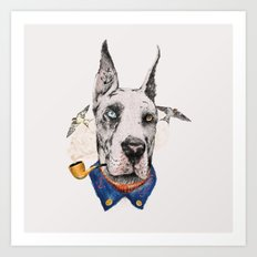 Mr. Great Dane Art Print