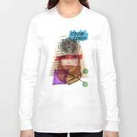 barbie Long Sleeve T-shirts featuring Barbie by benjamin chaubard
