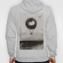 Olion Redon Eye Balloon Illustration Hoody