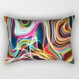 space illustrations abstract background texture Rectangular Pillow