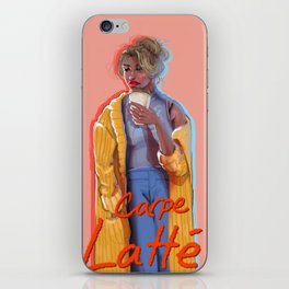 Carpe Latte iPhone Skin