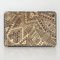 tribal iPad Cases featuring Tribal  by Terry Fan