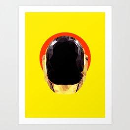 Daft Low Poly Punk Art Print