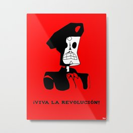 VIVA LA REVOLUCIÒN Metal Print