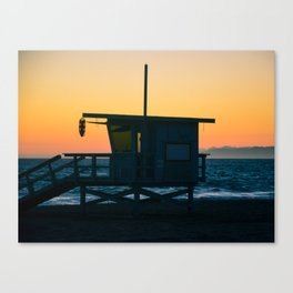 Sunset Tower Canvas Print