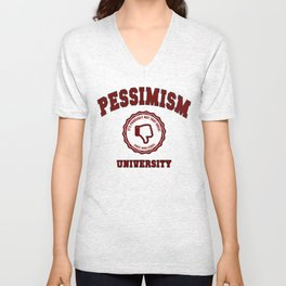 Pessimism University Unisex V-Neck