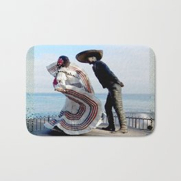 Puerto Vallarta, Mexico Sculpture by the Sea Bath Mat
