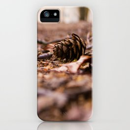 Pinecone iPhone Case