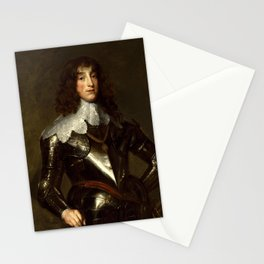 Anthony van Dyck - Charles Louis, Elector Palatine (1637) Stationery Cards