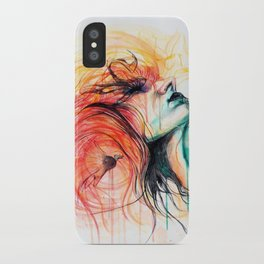 Metamorphosis-Bird of paradise iPhone Case