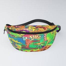 Rectilinear Fanny Pack