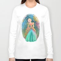 teacher Long Sleeve T-shirts featuring Juliana by Ind Alonso