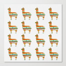 Lots of Llamas Canvas Print