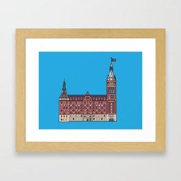 Milwaukee City Hall Framed Art Print