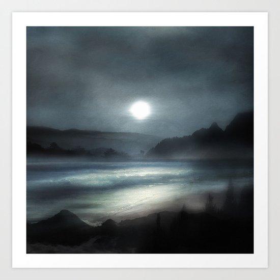 Isolation years Art Print