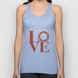 Saatchi Love Unisex Tank Top