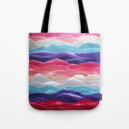 Colour waves II Tote Bag