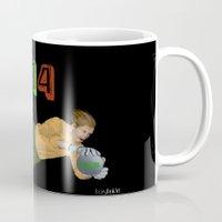 brazil Mugs featuring Brazil 2014 by Lost Link Art