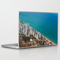 brazil Laptop & iPad Skins featuring Brazil Beach by Mauricio Santana