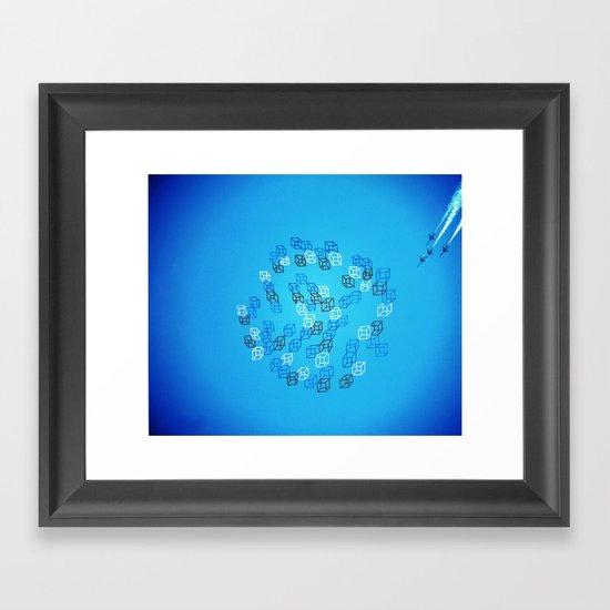 Photo Cube #1 Framed Art Print