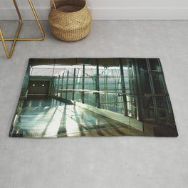 Boarding shadows Rug
