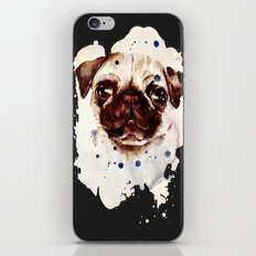 pug iPhone & iPod Skin