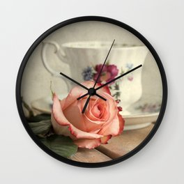 Have a cup of tea, please Wall Clock