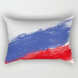 Russia's Flag Design Rectangular Pillow
