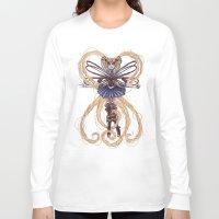 "sailormoon Long Sleeve T-shirts featuring Steampunk Sailormoon by Barbora ""Mad Alice"" Urbankova"