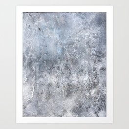 Gray Angst 1 Art Print