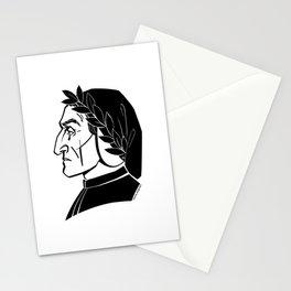 Dante Alighieri Stationery Cards