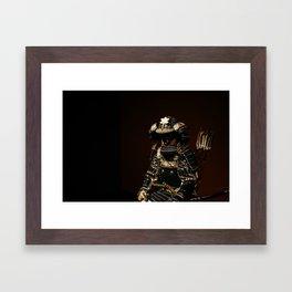 Samurai Armor Framed Art Print