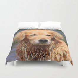 extraordinary animals -Dog 1 Duvet Cover